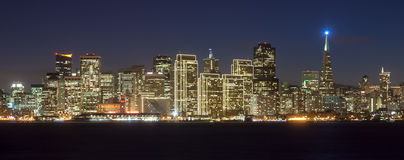 San Francisco horisont Arkivbild