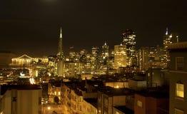San Francisco horisont Fotografering för Bildbyråer