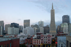 San Francisco, horizon Photographie stock