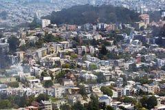 San Francisco houses Stock Image