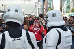 San Francisco How Weird Festival 2014 Stockfotos