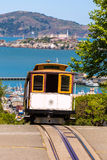 San Francisco Hyde Street Cable Car California fotografia stock libera da diritti