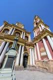 San Francisco i staden av Salta, Argentina Arkivfoton