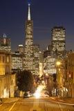 San Francisco im Stadtzentrum gelegen. Stockbilder