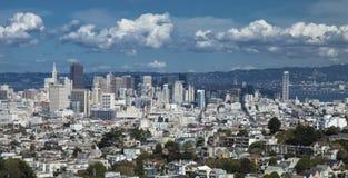 San Francisco im Stadtzentrum gelegen Stockfotografie
