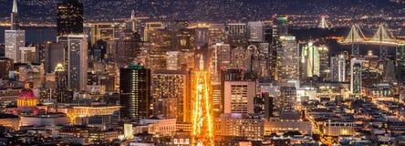 San Francisco im Stadtzentrum gelegen Lizenzfreies Stockbild
