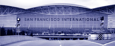 San Francisco International Airport Royalty Free Stock Images