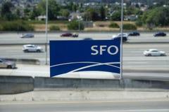 San Francisco International Airport (SFO) Images libres de droits