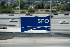 San Francisco International Airport (UFS) Immagini Stock Libere da Diritti