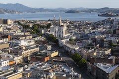 San Francisco Jackson Square Cityscape Fotografia Stock Libera da Diritti