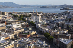 San Francisco Jackson Square Cityscape Royalty Free Stock Photography