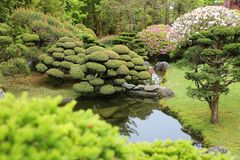 San Francisco Japanese Garden Royalty Free Stock Photography