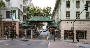 SAN FRANCISCO - 16 JUIN : Rue principale de ville de la Chine le 16 juin 2015 Photo stock