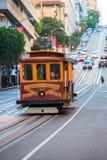 San Francisco Kabel-bil Royaltyfri Foto