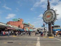 San Francisco, Kalifornia, usa: Fishermans nabrzeże obrazy royalty free