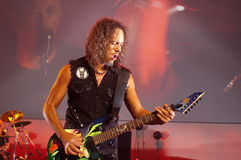 Metallica in Moscone Mitte 2011 Lizenzfreie Stockfotografie