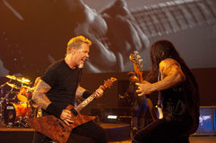 Metallica in Moscone Mitte 2011 Lizenzfreie Stockbilder