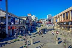 San Francisco Kalifornien - Februari 11, 2017: Härlig sikt av den japanska grannskapen i det populärt och kulturellt Arkivbilder
