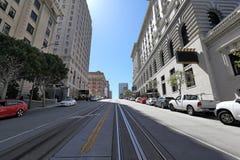 San Francisco: Kalifornien-Straße lizenzfreie stockbilder