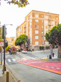 San Francisco, Kalifornien, USA - 10. November 2015: San Fran Lizenzfreie Stockbilder