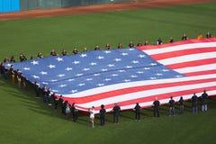 San Francisco Kalifornien, USA, Oktober 16, 2014, AT&T parkerar, baseballstadion, St Louis Cardinals, medborgaren Leag för SF-jät Royaltyfria Bilder