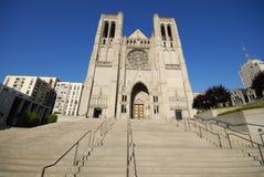 San Francisco katedralna grace Obrazy Royalty Free