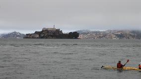 San Francisco kayak stock video footage