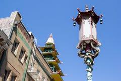 San Francisco kineskvarter Arkivfoto