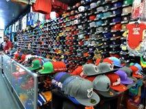 San Francisco, kolorowy kapeluszowy sklep obrazy royalty free