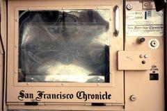 San Francisco kroniki społeczeństwa pudełko zdjęcie stock