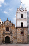 San Francisco kyrkliga Bogota Colombia arkivfoton