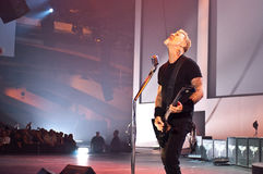 Metallica au centre 2011 de Moscone Image stock
