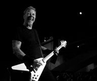 Metallica au centre 2011 de Moscone Photographie stock