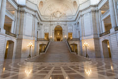 San Francisco, la Californie, Etats-Unis - 1er juin 2017 : San Francisco City Hall photos stock
