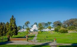 San Francisco, la Californie - 11 février 2017 : Beau Golden Gate Park à San Francisco, le cinquième la plupart de ville visitée Photographie stock libre de droits