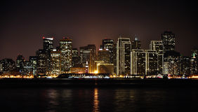 San Francisco la nuit Photographie stock