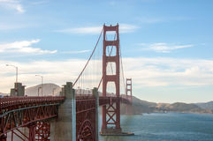 San Francisco landmark - Golden Gate Bridge. USA Stock Image