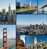 San Francisco Landmarks Stock Photography