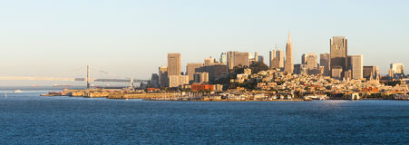 San Francisco - Late Afternoon Skyline Royalty Free Stock Photo