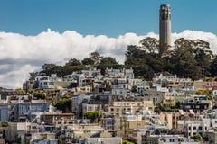 San Francisco le printemps 2019 de Real Estate de ville photographie stock