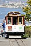 SAN FRANCISCO - le tramway de funiculaire Photos libres de droits
