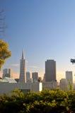 San francisco linia horyzontu Zdjęcie Royalty Free