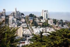Free San Francisco - Lombard Street Royalty Free Stock Photos - 13358108