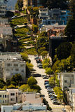 San francisco Lombard Street Royalty Free Stock Image