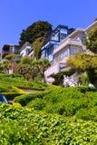 San Francisco Lombard Street gardens California Stock Image