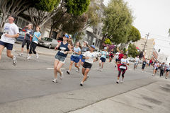 San Francisco Marathon Stock Images