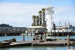 San Francisco marina Royalty Free Stock Photos