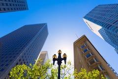 San Francisco Market Street Downtown in Californië royalty-vrije stock fotografie