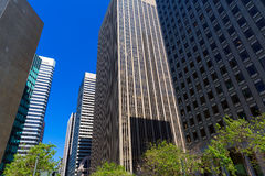 San Francisco Market Street Downtown in California Stock Images