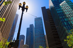 San Francisco Market Street Downtown in California Royalty Free Stock Photos
